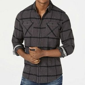 American Rag Men's Heaton Plaid Shirt, Size S
